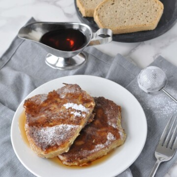 Low Carb and Gluten Free French Toast | Peace Love and Low Carb