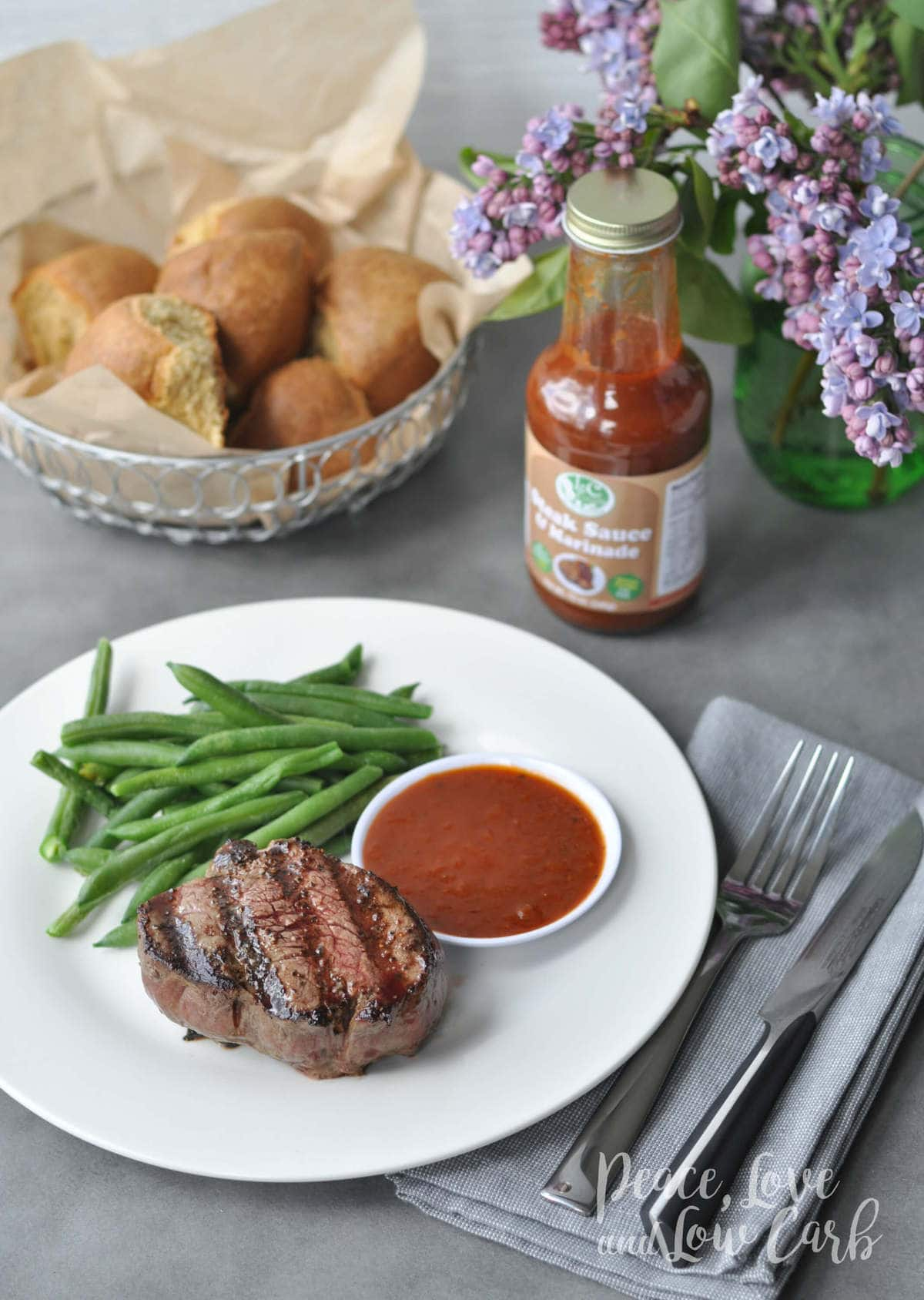 Low Carb Steak Sauce and Marinade | Peace Love and Low Carb