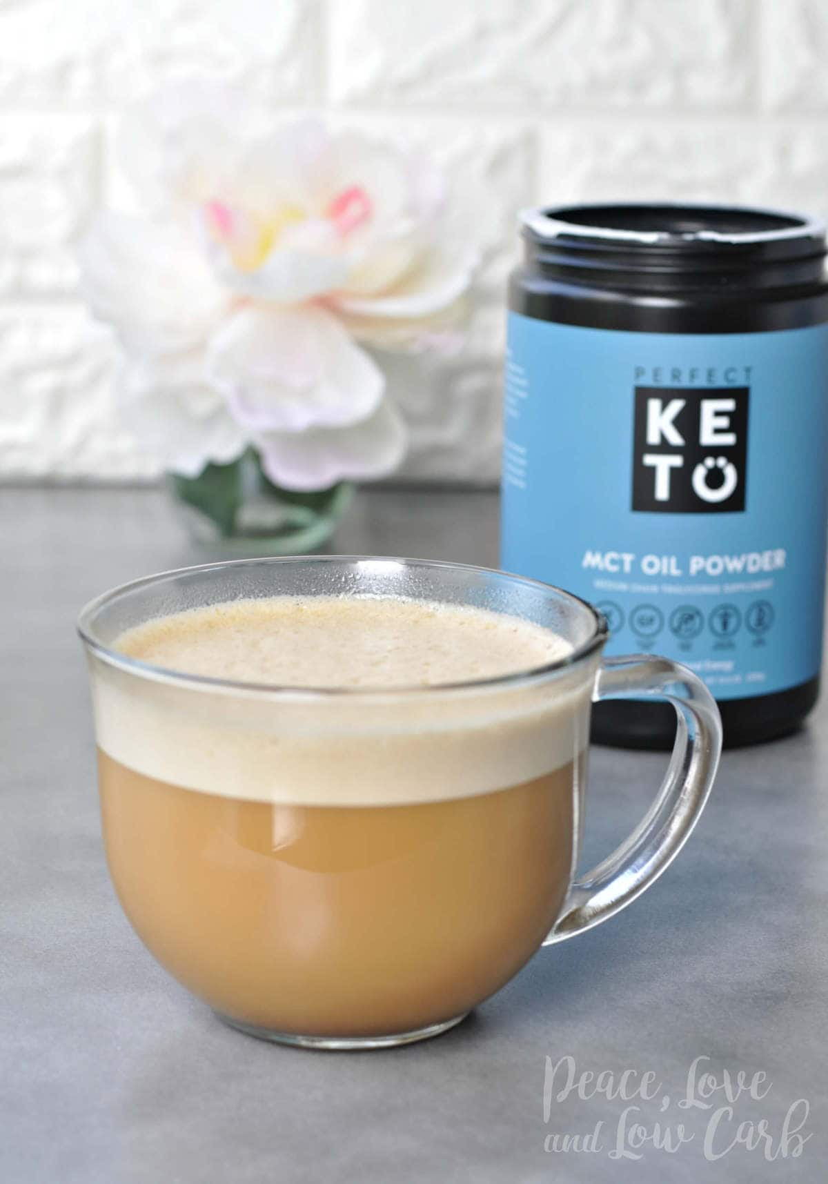 Butter Coffee Boosted with MCT Oil Powder