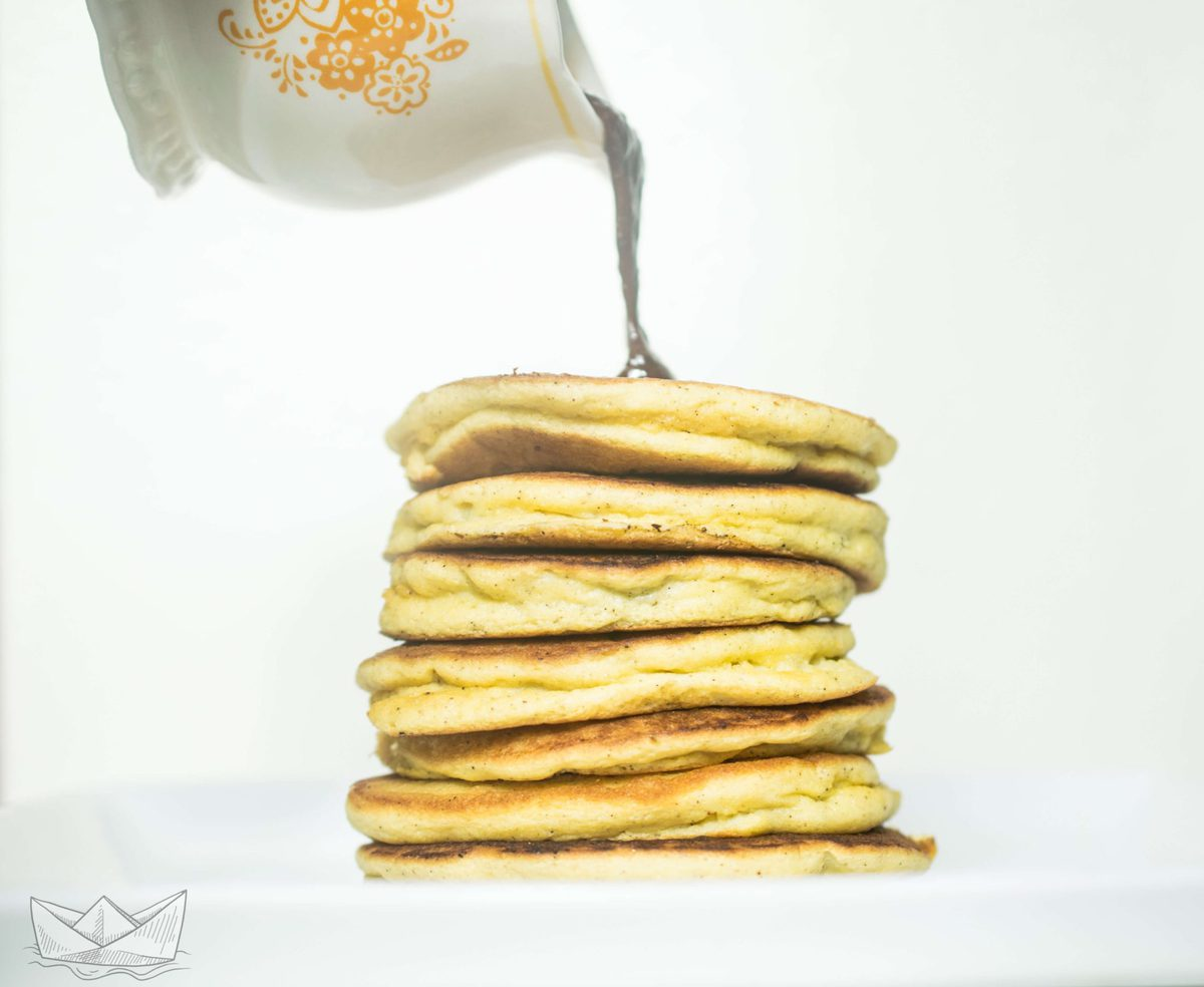 Silver Dollar Keto Pancakes