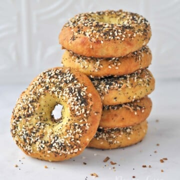 Low Carb Keto Everything Bagels | Peace Love and Low Carb