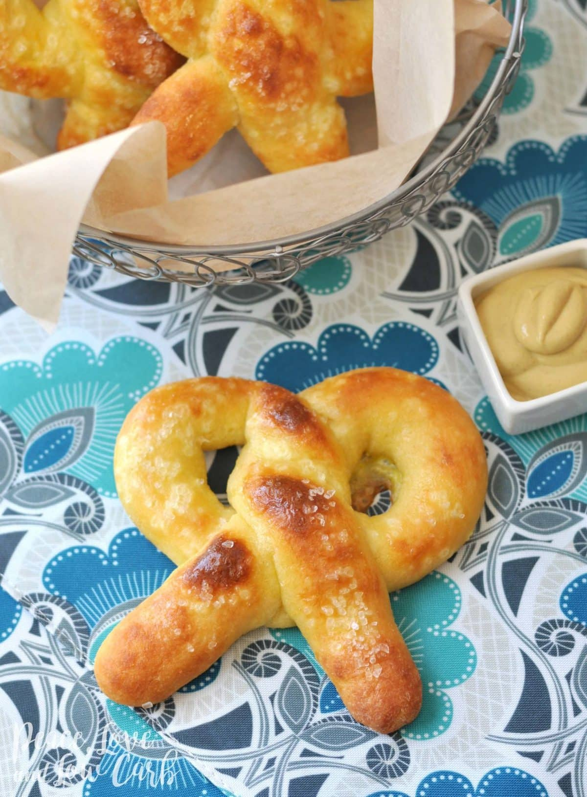 Gluten Free Keto Soft Pretzels Peace Love And Low Carb