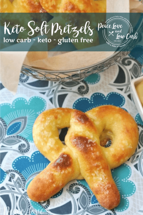 All of the delicious chewiness of a real soft pretzel, but low carb and keto friendly. The keto soft pretzels are sure to impress.