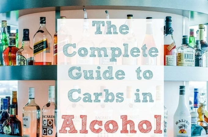 The Complete Guide to Carbs in Alcohol - Peace Love and Low Carb