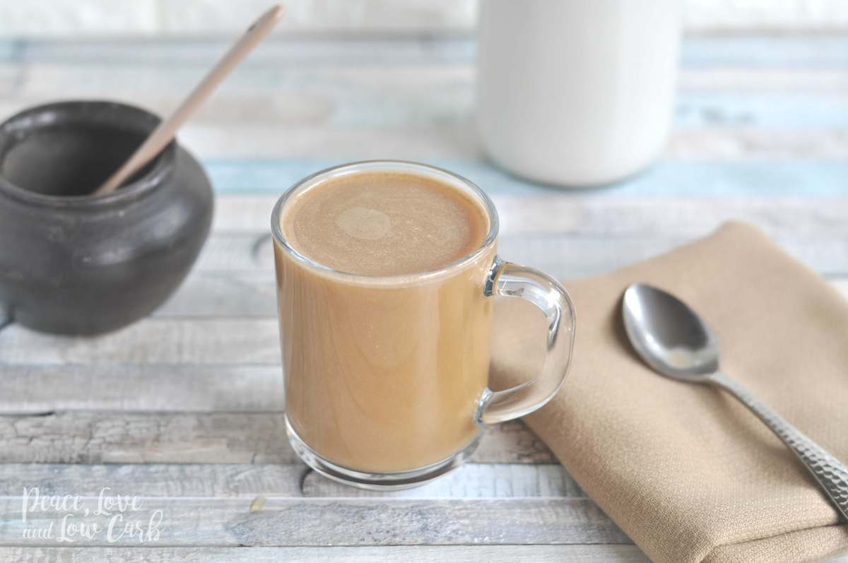 Low Carb Almond Coconut Milk Creamer - Peace Love and Low Carb