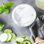 Summer is upon us and it's time for some low carb fun in the sun. You can still have all your favorite cocktails, it just takes a little creativity -Low Carb Cucumber Mojitos