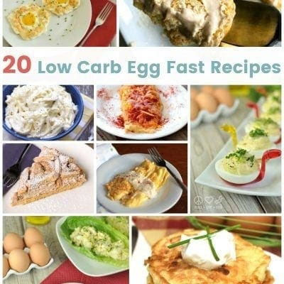 20 Low Carb Egg Fast Recipes