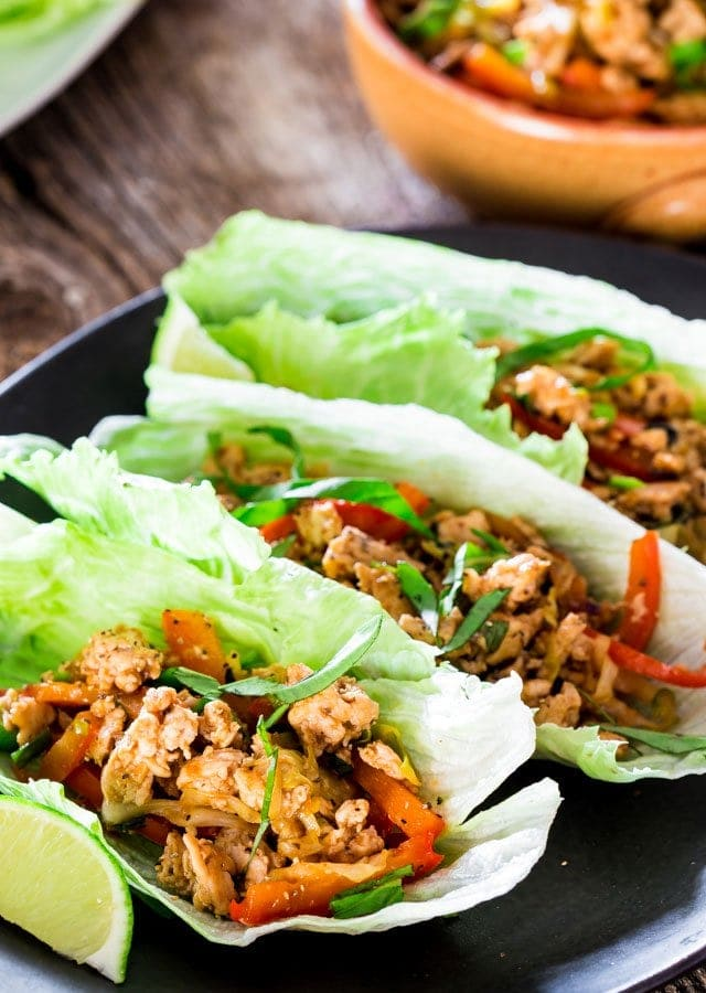 Hoisin Chicken lettuce Wraps | Chef Savvy
