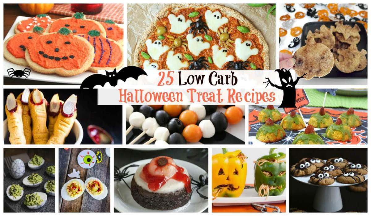 low carb halloween recipes | peace love and low carb
