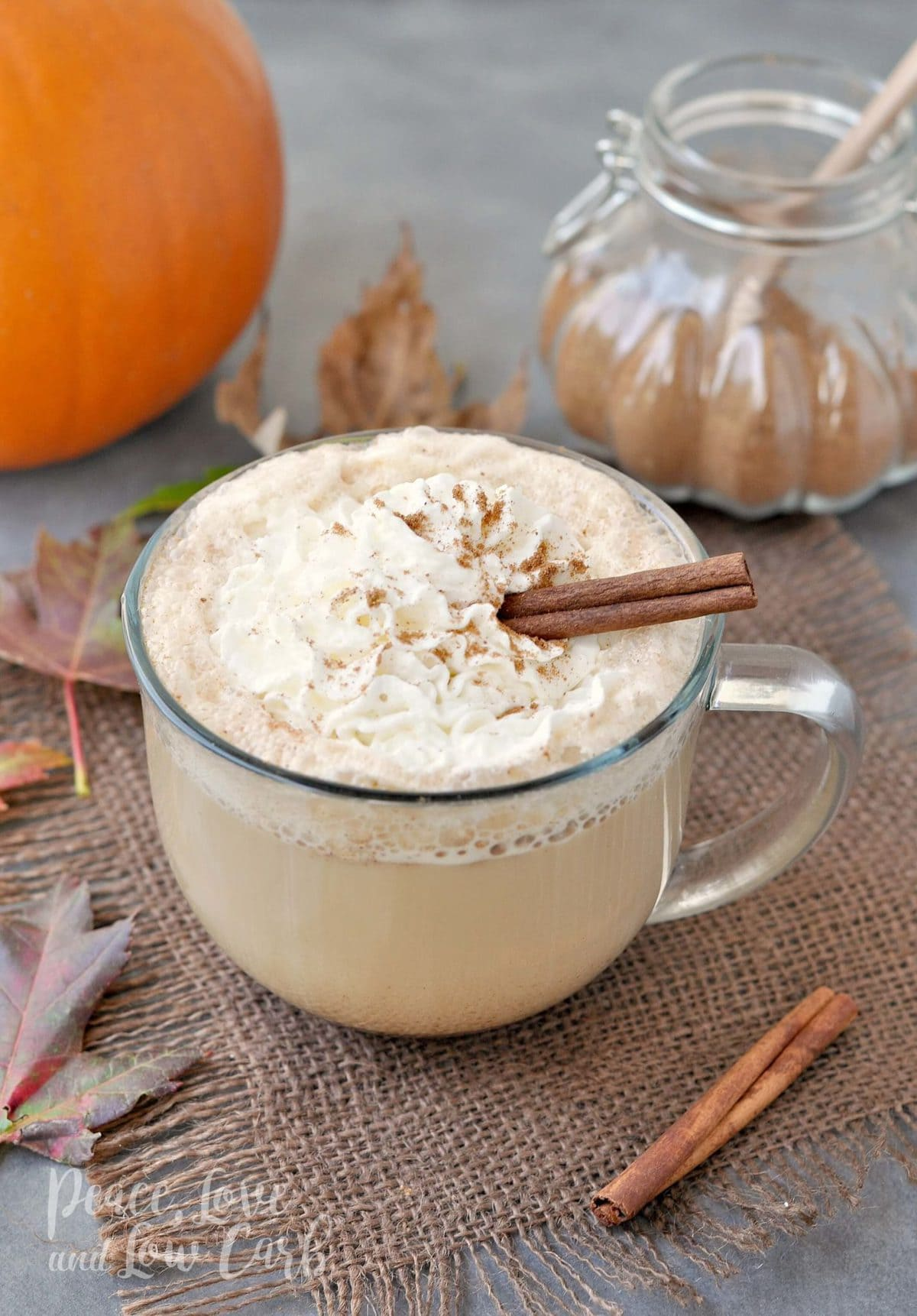 Keto Pumpkin Spice Latte - Peace Love and Low Carb