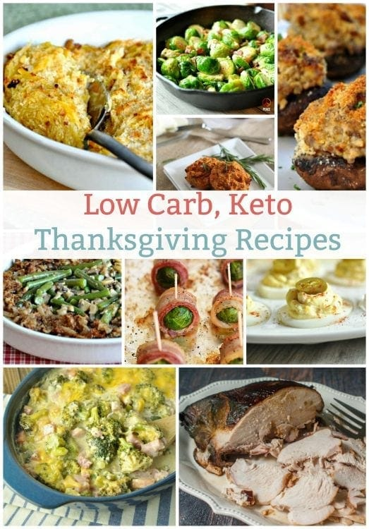 Low Carb Keto Thanksgiving | Peace Love and Low Carb | Peace Love and Low Carb