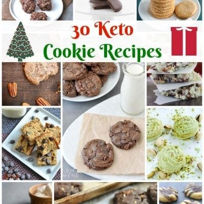 30 Recipes for Keto Cookies