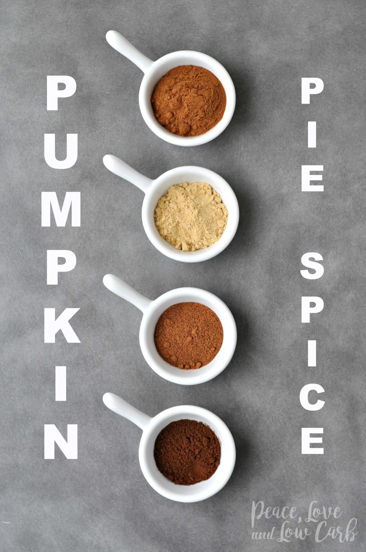 Low Carb Pumpkin Pie Spice | Peace Love and Low Carb