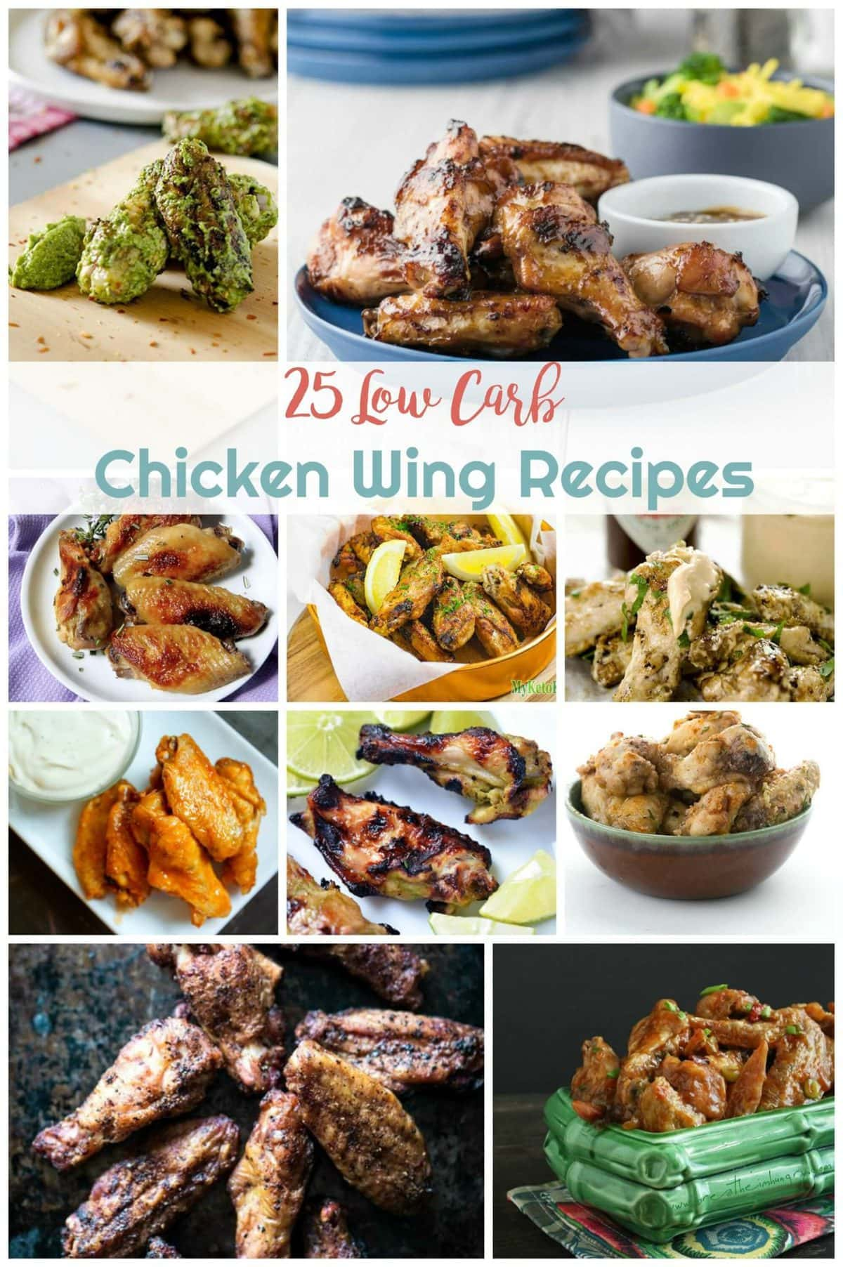 25 Low Carb Chicken Wing Recipes Peace Love And Low Carb
