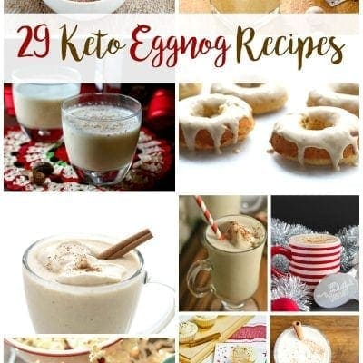 29 Keto Eggnog Recipes