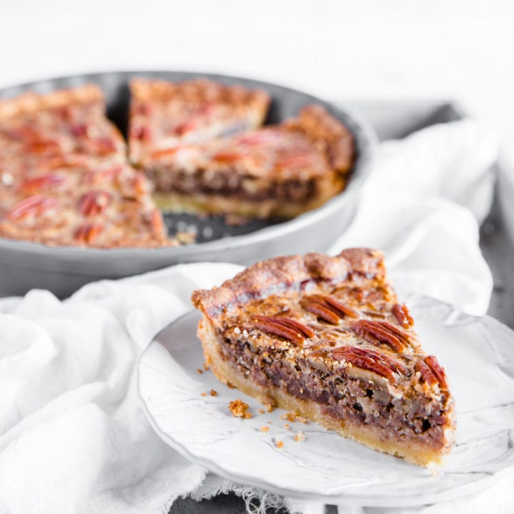 A holiday classic with a healthy makeover – This keto pecan pie is sugar free and gluten free all while still having the deliciously warm and inviting flavors of the original.