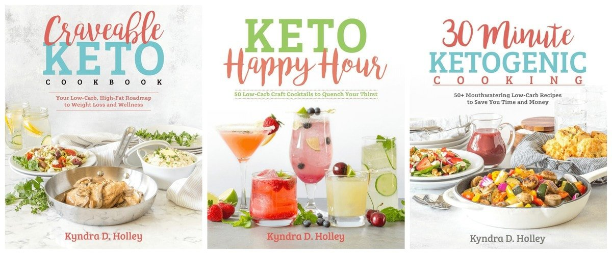 Kyndra Holley - Keto Low Carb Cookbooks