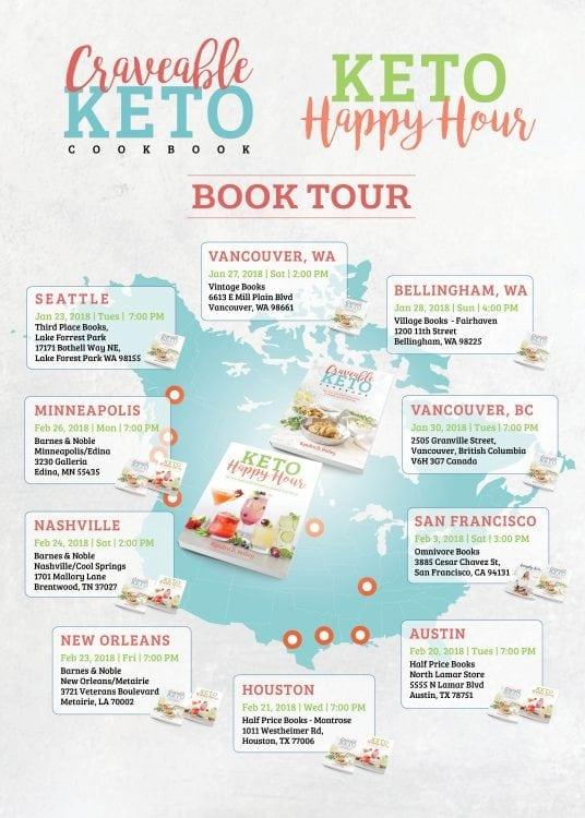 Craveable Keto Book Tour