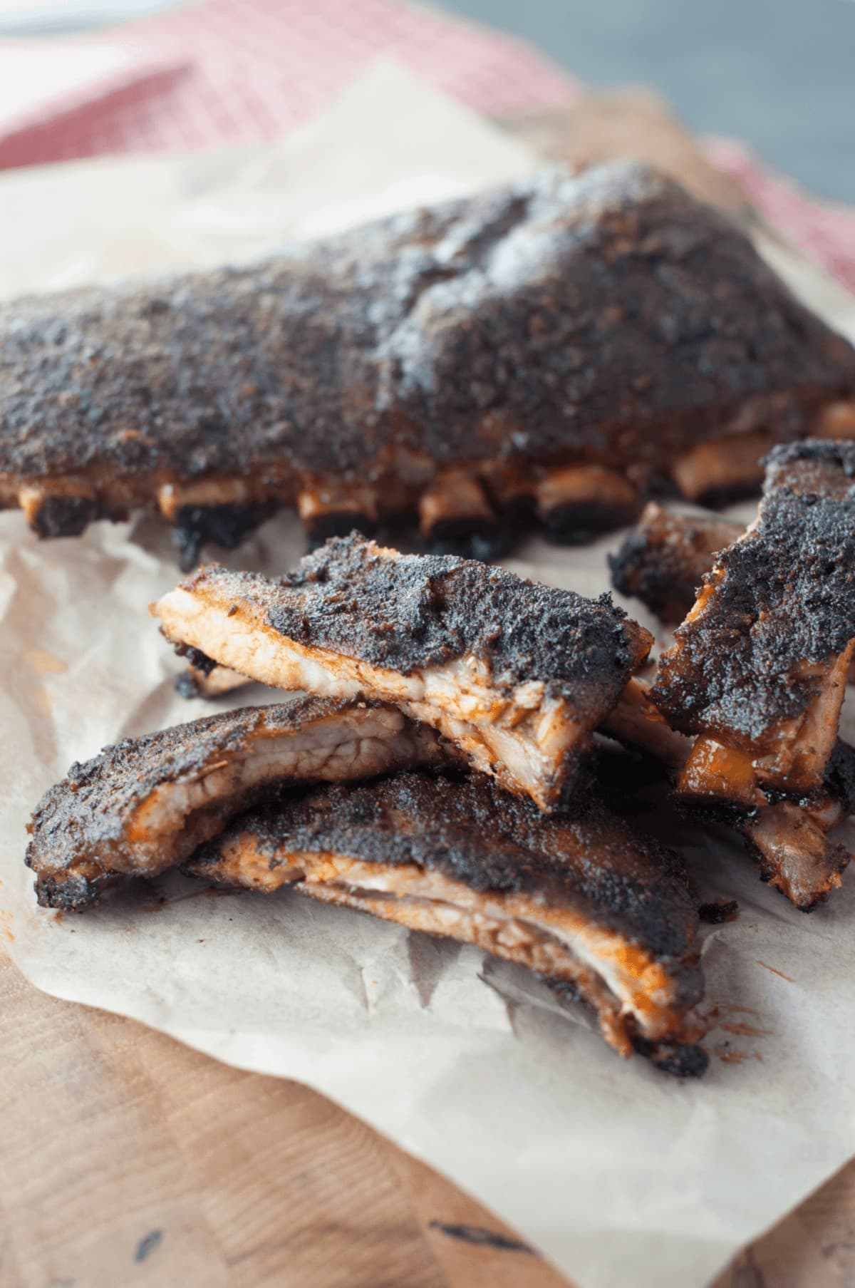 Keto Barbecue Dry Rub Ribs - From Craveable Keto Cookbook
