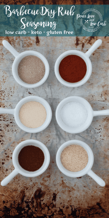 Low Carb Barbecue Dry Rub Seasoning. Great for ribs, chicken or steak!