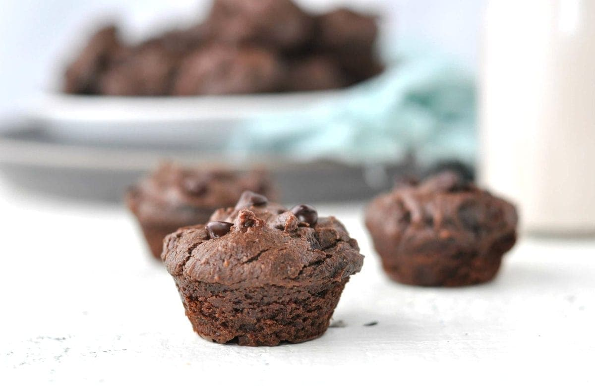 Keto Chocolate Muffins Peace Love And Low Carb