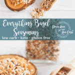 Hard to beat this Everything Bagel Seasoning. Is there anything that it doesn't taste great on? It's not just for keto bagels!