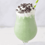 The perfect sugar free, low carb St. Pattys Day Treat. Skip the high-carb, sugar loaded version and go for this Keto Dairy Free Shamrock Shake.