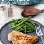 Low carb recipes don't get much easier than this. Only 2 ingredients - low carb honey mustard dressing and chicken. ThisKeto Honey Mustard Chicken is sure to become a family favorite.
