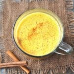Keto Golden Milk Latte Turmeric Tea | Peace Love and Low Carb