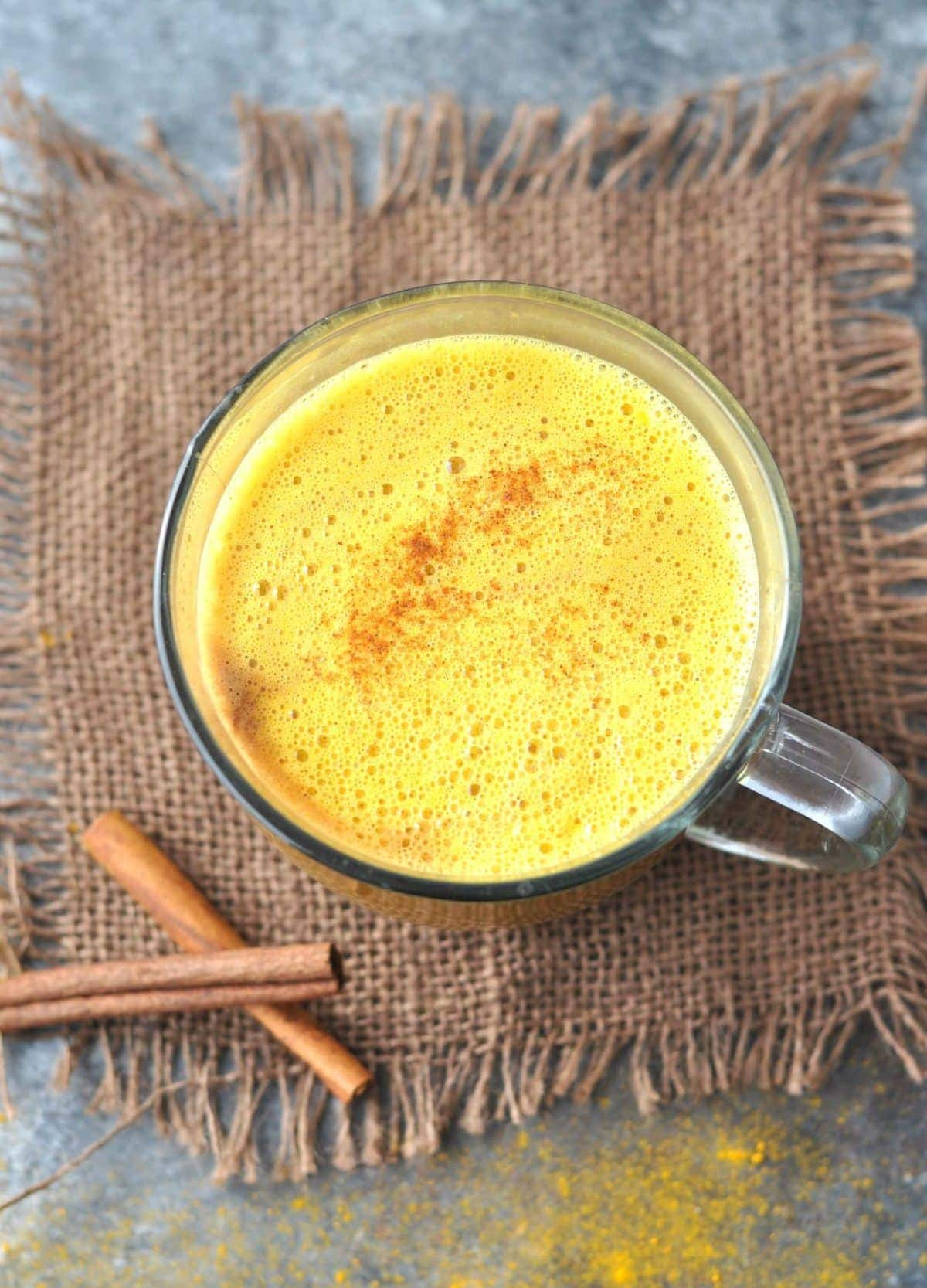 Keto Golden Milk Latte Turmeric Tea   Peace Love and Low Carb