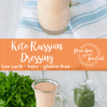 This Keto Russian Dressing is pretty much the perfect condiment. Great as a dressing for salads, a sauce for Ruebens, and a dip for Crab Cakes, you name it!