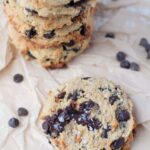 Keto Salted Caramel Chocolate Chips Cookies | Peace Love and Low Carb