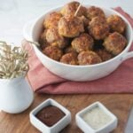 Keto Sausage Balls | Peace Love and Low Carb