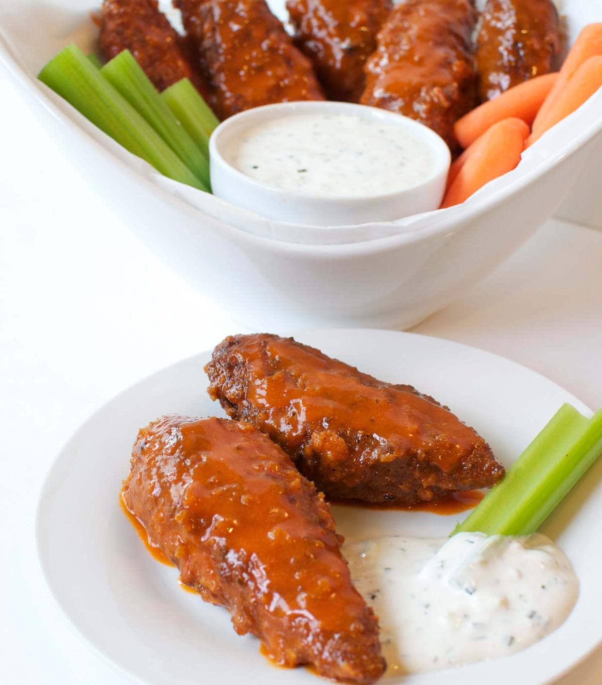 Keto Buffalo Chicken Tenders | Peace Love and Low Carb