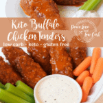 Of all the chicken tender recipes out there, these quick and easy Keto Buffalo Chicken Tenders are so good, you will never even know that they are low carb.