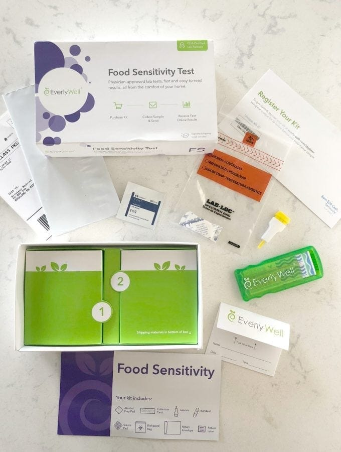 EverlyWell Food Sensitivity Test | Peace Love and Low Carb