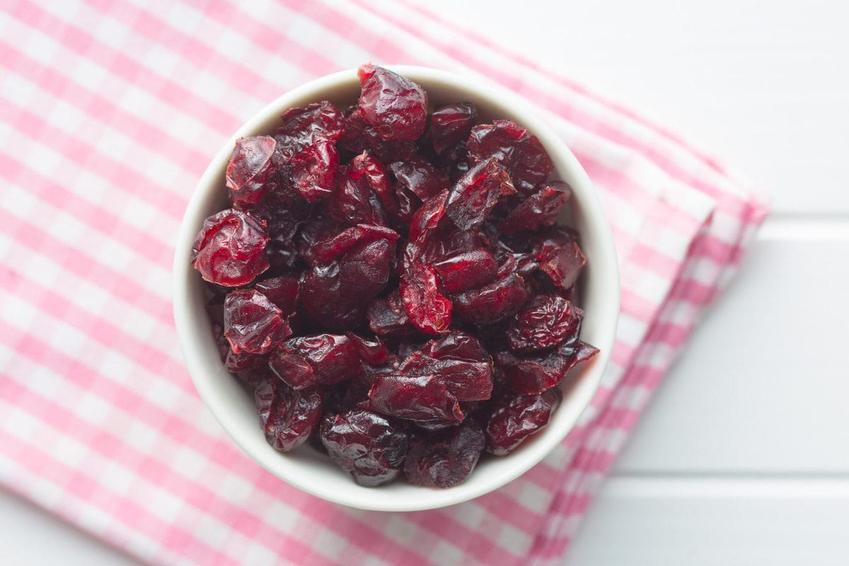no sugar added low carb dried cranberries | peace love and low carb