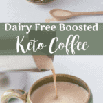 Dairy Free Boosted Keto Coffee | Peace Love and Low Carb
