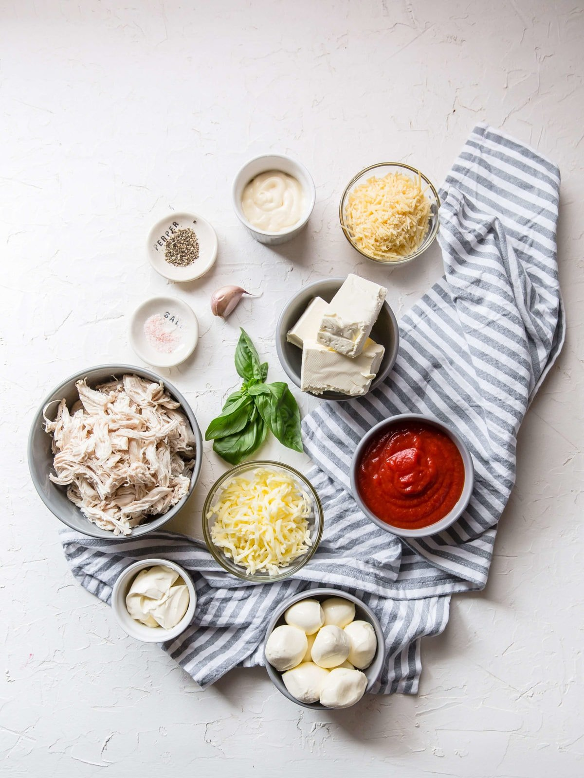 Keto Chicken Parmesan Dip | Peace Love and Low Carb