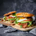 Keto Bagel Breakfast Sandwiches   Peace Love and Low Carb