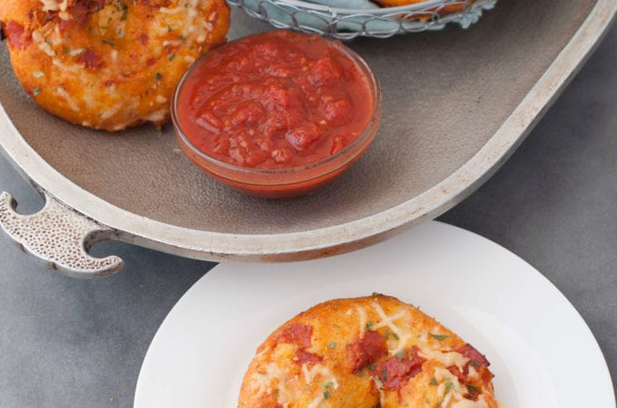 Keto Pizza Bagels | Peace Love and Low Carb