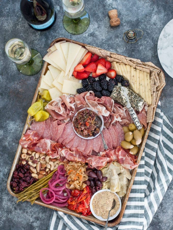 How to Build an Epic Keto Charcuterie Board | Peace Love and Low Carb