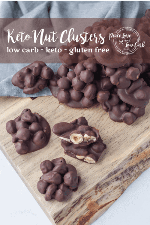 Keto Chocolate Nut Clusters | Peace Love and Low Carb copy copy