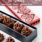 Keto Orange Chocolate Fat Bombs | Peace Love and Low Carb copy