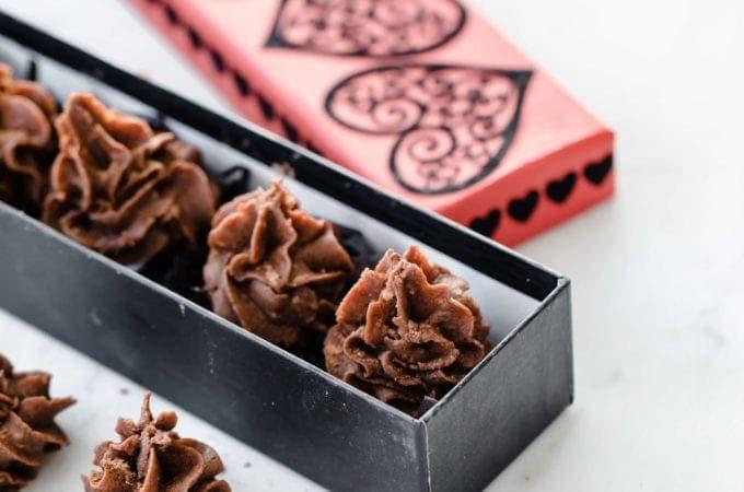 Keto Chocolate Orange Fat Bomb Kisses | Peace Love and Low Carb