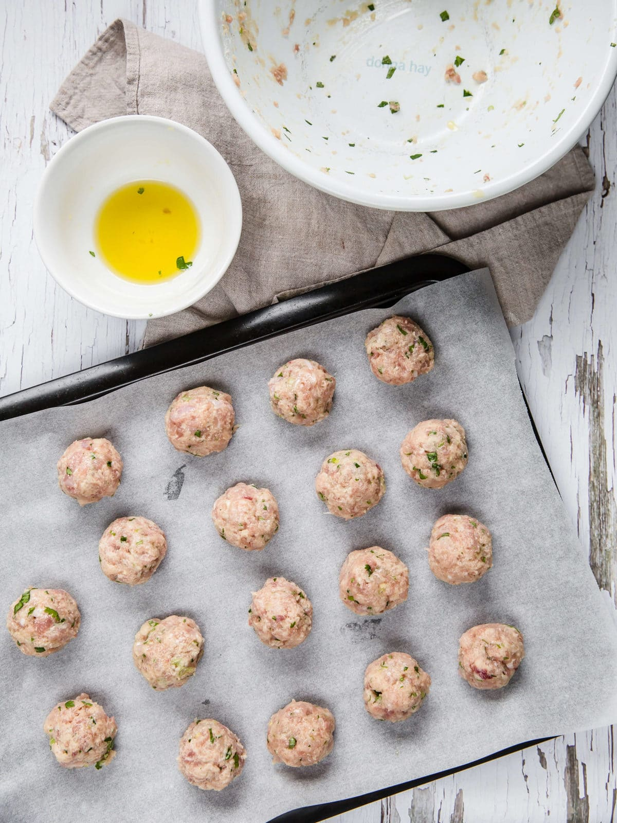 Keto Asian Chicken Meatballs | Peace Love and Low Carb