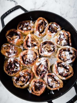 Maple Keto Cinnamon Rolls | Peace Love and Low Carb