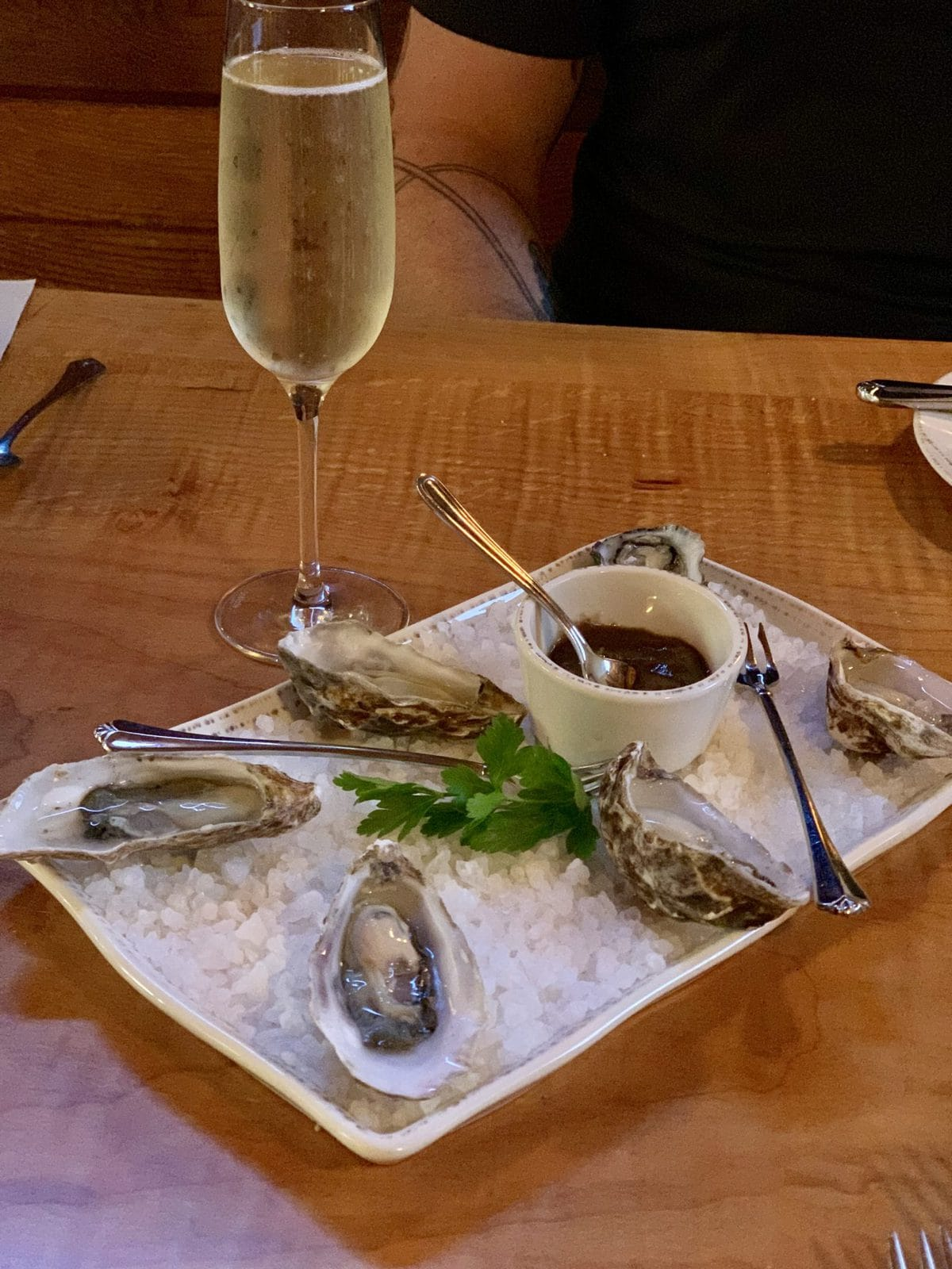 Fresh Oysters - Duck Soup - San Juan Island | Peace Love and Low Carb