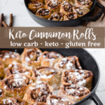 Keto Cinnamon Rolls | Peace Love and Low Carb copy 2
