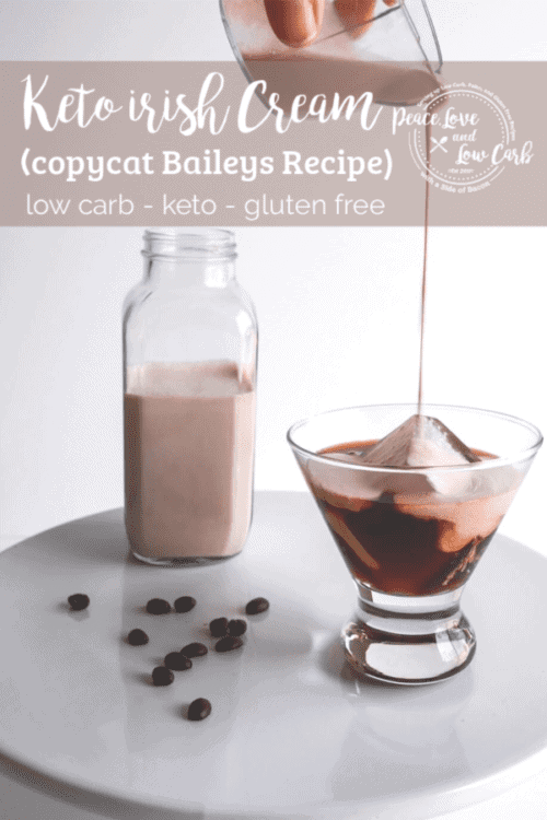 Keto Irish Cream (Copycat Low Carb Baileys | Peace Love and Low Carb copy